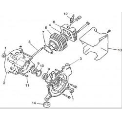 Carcasa motor GPM950
