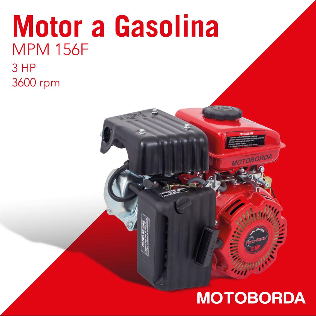 motor a gasolina de 3 HP